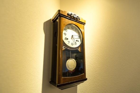 由比っと_古時計