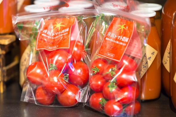 井出トマト農園のトマト